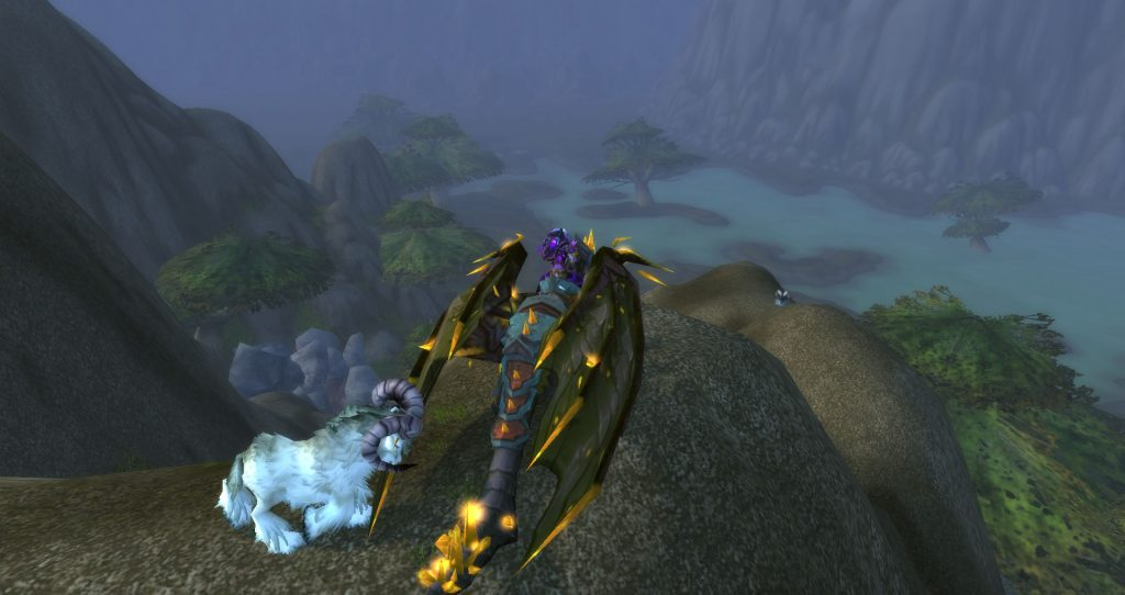 A last view of the Wetlands as the Da Doctas continue to Loch Modan