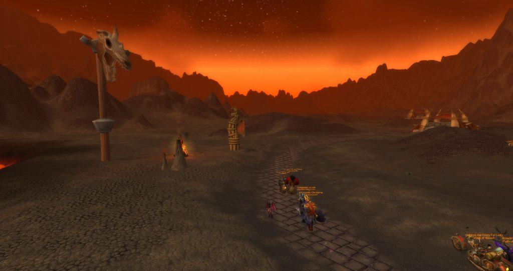 Da Doctas Tour runs through the Burning Steppes
