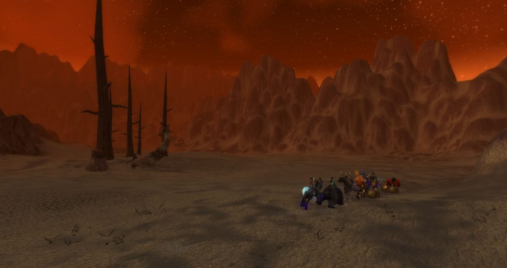 Da Doctas Tour continues through the barren eastern edge of the Burning Steppes