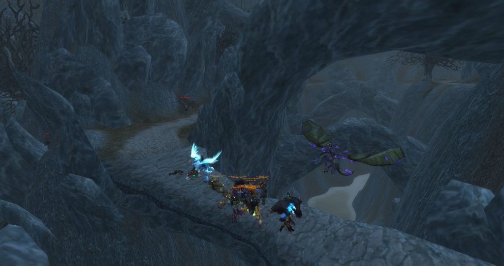 Da Doctas Tour stops on a bridge in Deadwind Pass