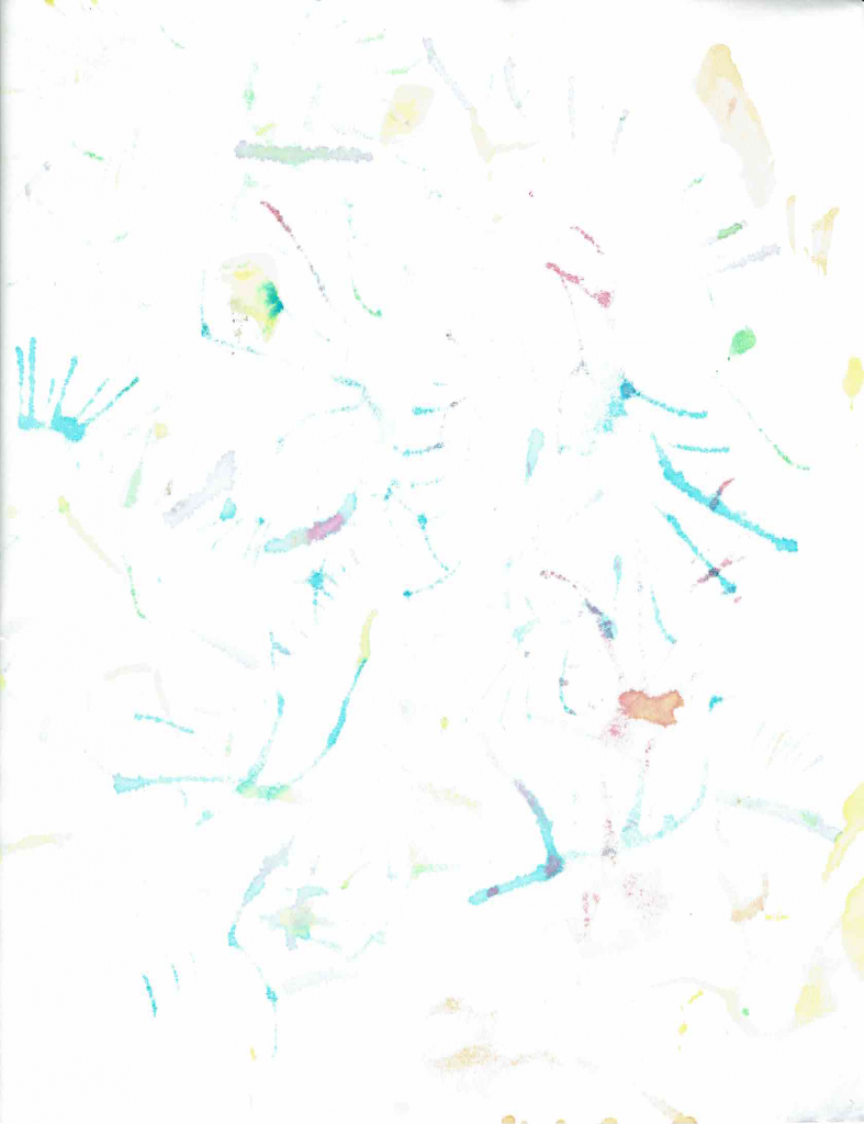 muted watercolor background